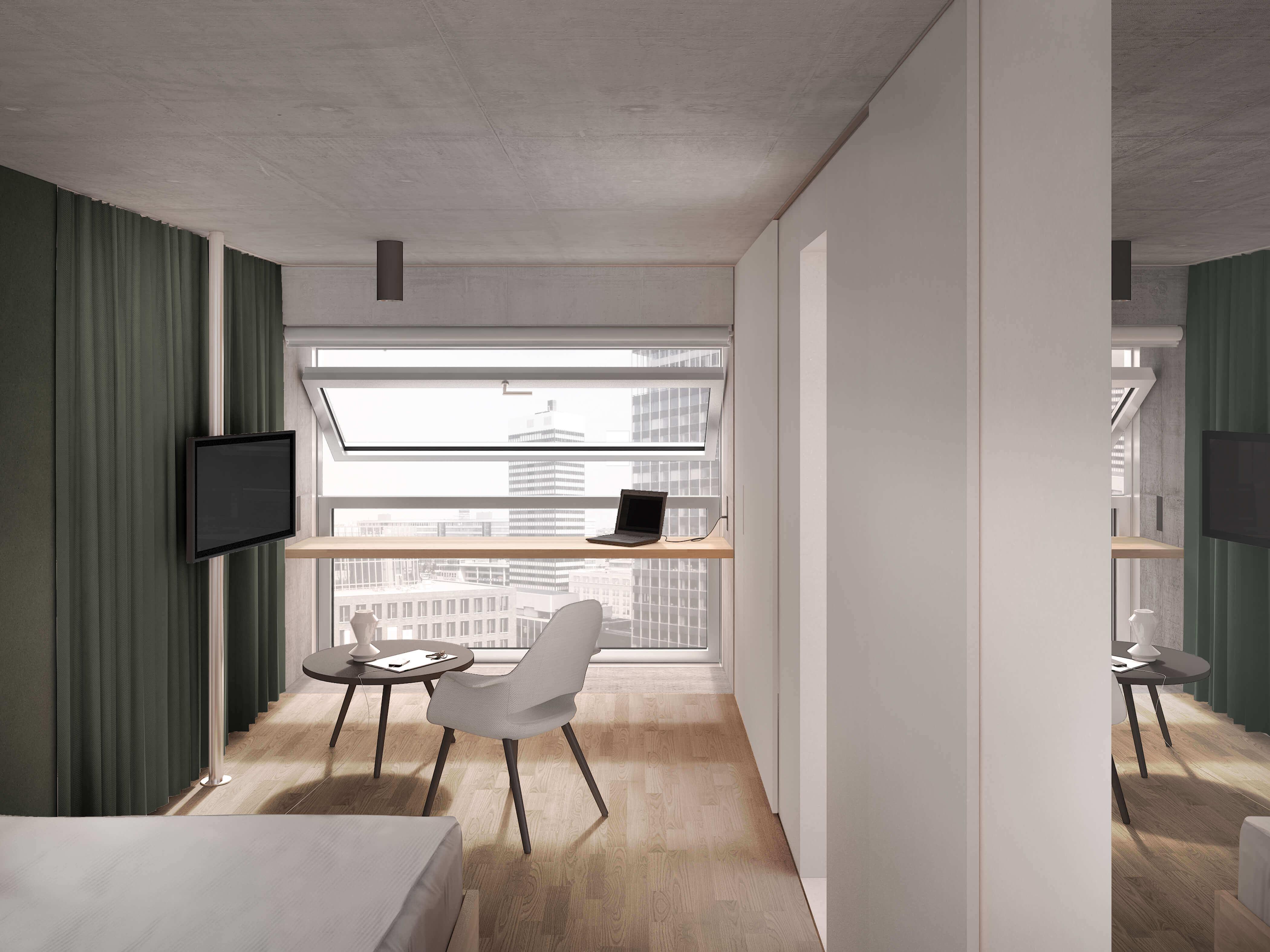 "Projektplanung, Hotel ""The Flag"", 226 Zimmer"