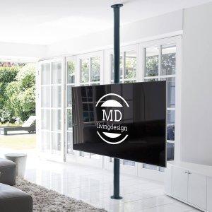 tv stange alcantara boden decke von md livingdesign