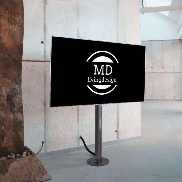 tv staender silber von md livingdesign